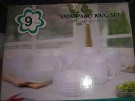 Salad and Mug Set