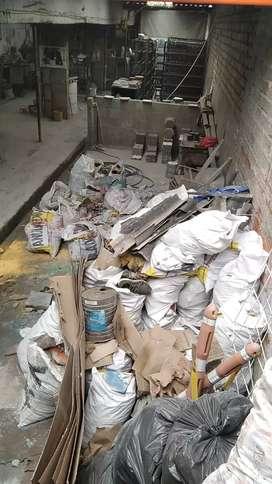 Recoleccion de escombros el poblado