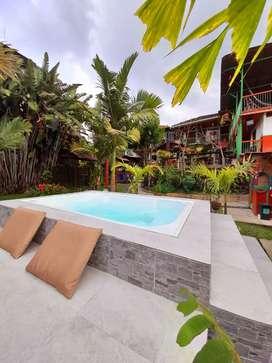 Vendo hotel a una cuadra de la plaza en Salento, Quindio, Colombia