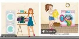 Lavado y planchado de ropa