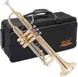 Trompeta Dorada Jean Paul usa Americana Nuevas Selladas