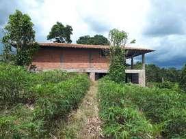Casa Finca en Construcción