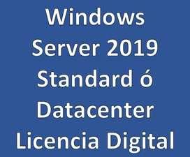 Windows Server 2019 Standard o Datacenter