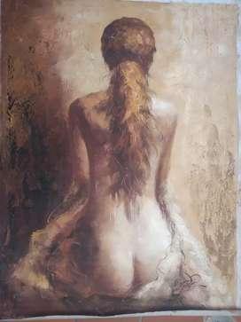 Pintura al óleo sobre lienzo