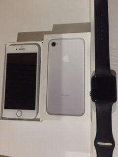 Cambio Iphone 7 y Apple Watch Serie 2