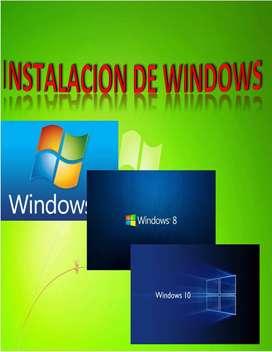 formateo y instalo windows