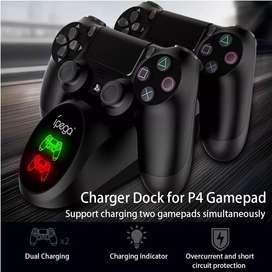 nuevo! base cargador controles ps4 ipega modelo 2021