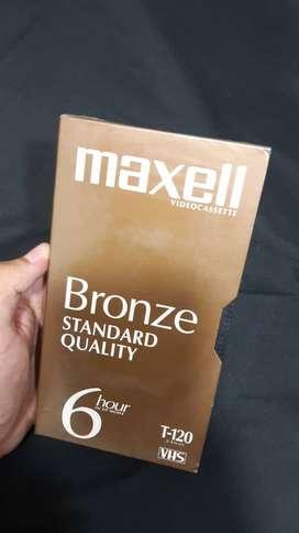 Videocassette Maxel Bronze