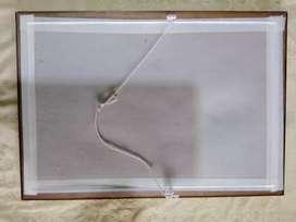 Marco para cuadro con vidrio, nuevo