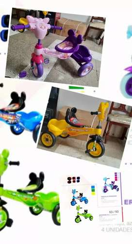 Triciclo infantil cod 58858