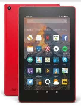 Vendo tableta amazon fire 7 intacta.sin chip.