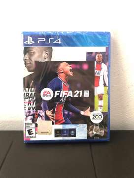 Video Juego Fifa21 para PlayStation 4