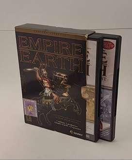 Empire Earth Juego Pc + Expansion Excelente Estado