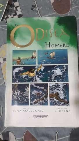 """Odisea de Homero""  libro de  Fiona Macdonald"