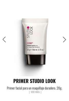 Primer Facial Para Un Maquillaje Duradero Cyzone Sellado! studio look