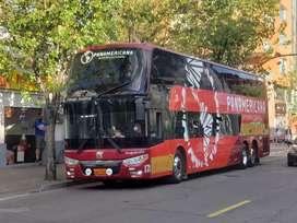 Vendo Bus Zhongtong doble piso