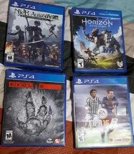 Canje  y venta de juegos ps4