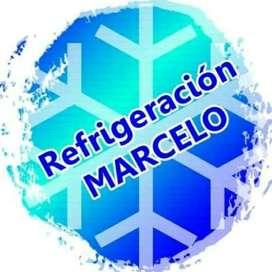 Refrigeración Marcelo , service heladeras , lavarropas, secarropas, aire acondicionado !