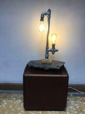 Lámpara estilo idustrial