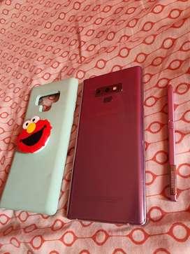 Samsung Galaxy Note 9 nuevo 10 de 10 con accesorios
