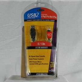 USB2 Hi Speed -  A Plug / 5-Pin Mini B Plug