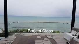 Decoración vidrio templado
