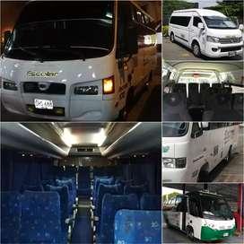 Alquiler de transporte