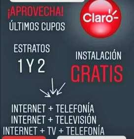 Paquetes con subsidio CLARO