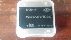 Memoria Stick pro duo 1g