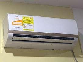 Aire acondicionado minisplit Simply 110v