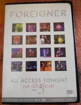Foreigner In Concert Dvd