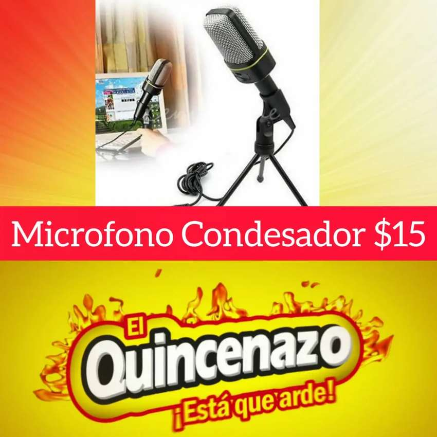 Micrófono condensador 0