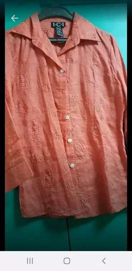 Blusa color Naranja