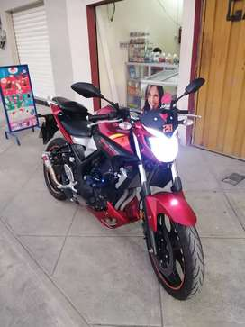 YAMAHA MT03 Flamante
