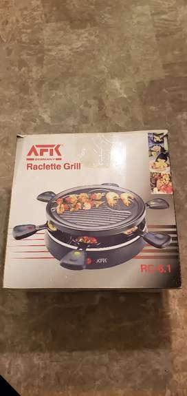 Parrilla de hacer Racletts