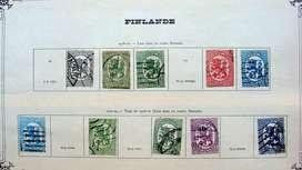 Sellos postales de Finlandia 1918 – 1924