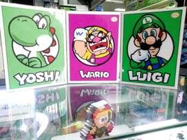Cuadros Mario Bros