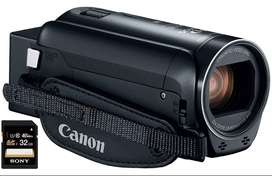 Camara filmadora Canon VIXIA HF R82 + SD 32gb sony