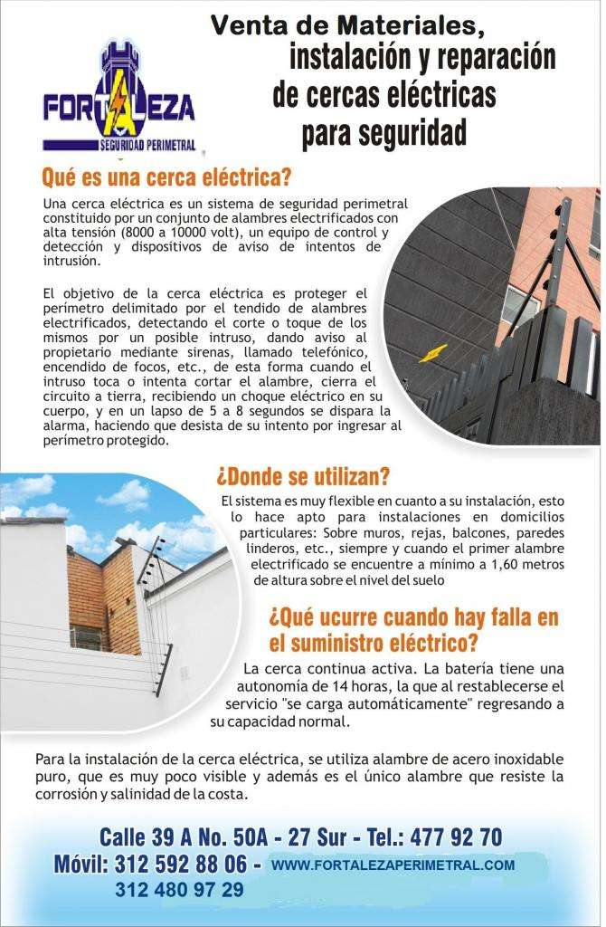 Cercas Electricas , Venta de MATERIALES, CAMARAS, ACCESOS 0