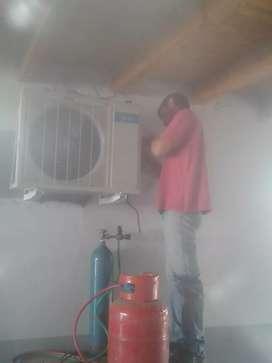 Colocacion y repararacion aires split y ventana.hornoss electricos