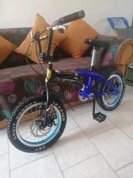 Vendo bicicleta gw lancer rin 16