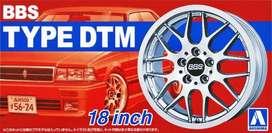 Llantas Aoshima Bbs Type Dtm 18  1/24 Auto Armar