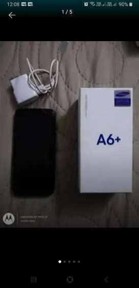 Se vende Samsung galaxy A6 plus