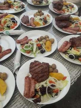 Eventos Parrillas Catering Almuerzo Peru