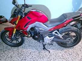 Vendo moto honda 190