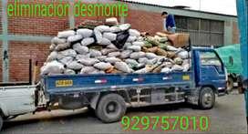 //eliminación de desmonte y recojo escombros//