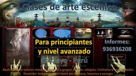 Clases de arte escénico (Teatro)