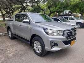 Toyota hilux 2019 diesel 4.4 unico dueño