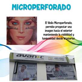 MICROPERFORADOS Y VINILOS