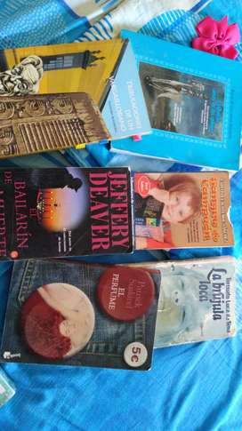 Vendo libros usados